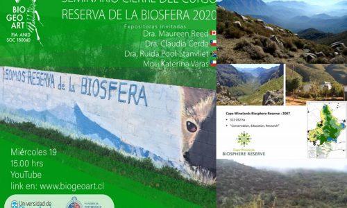 Universidades destacan segunda versión del curso Reservas de la Biosfera, construyendo un Atlas Colaborativo de la Reserva La Campana-Peñuelas